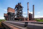 Fotografie Verlassene alte Industriegebäude in den Landschaftspark Duisbur