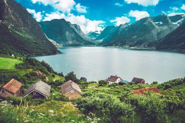 Amazing norwegian lake