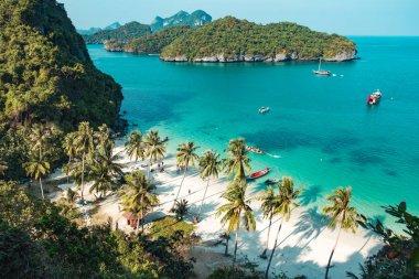 Beautiful beach at Ang Thong National Park, Thailand