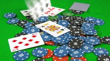 Casino, karty na čipy