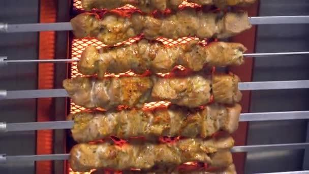 maso pečené na grilu