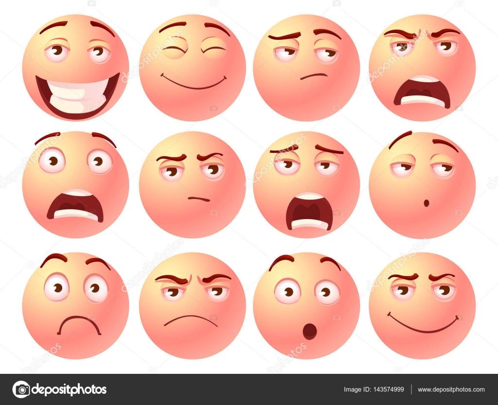 Cartoon facial emotions final, sorry