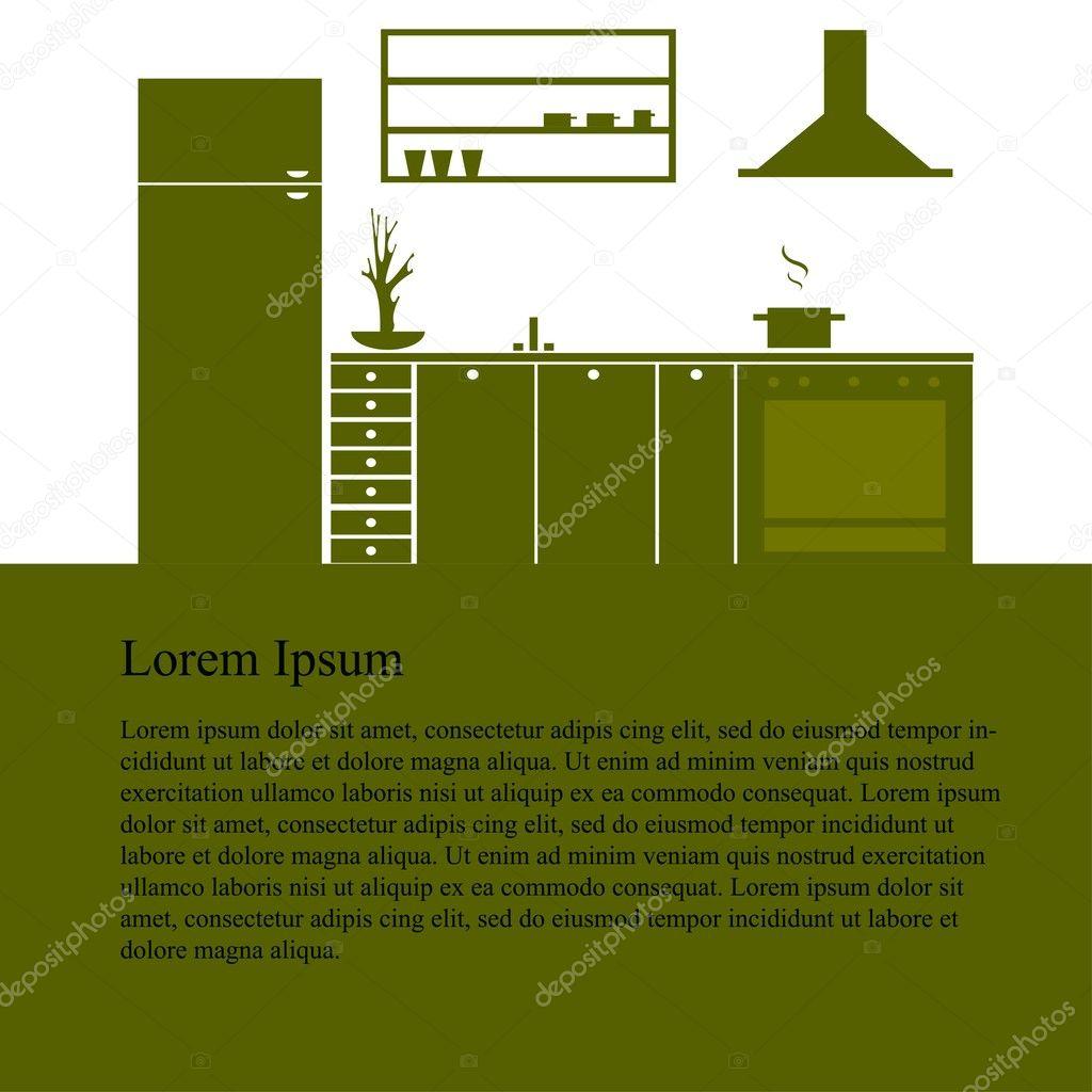 Moderne Küchenmöbel küche küche interior design moderne küchenmöbel isolierte