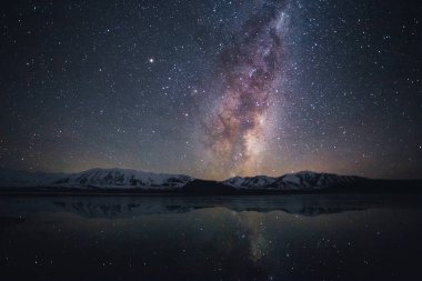 Milky way at Lake Tekapo