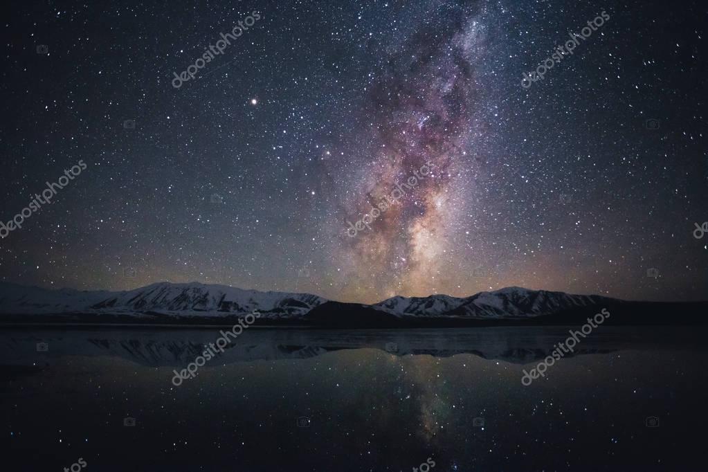 Milky way at Lake Tekapo