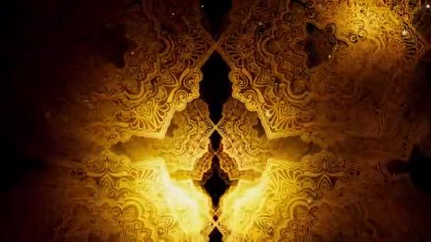 Vintage Islamic Pattern ist Filmmaterial für Festivalfilme und für religiöse Filme. Auch guter Hintergrund für Szene und Titel, Logos.