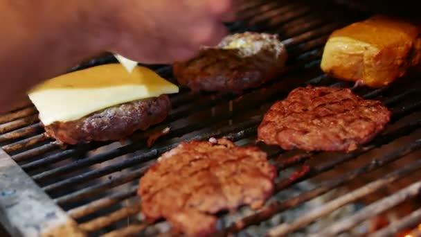 Lahodné řízky pro americký hamburger