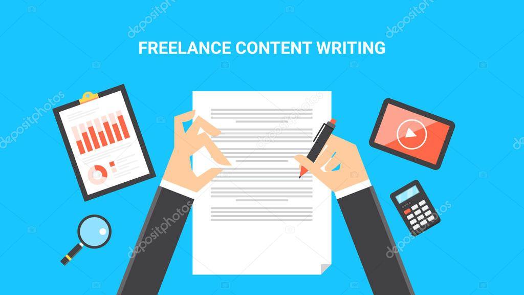 Freelance job, content writing, online job opportunity ...