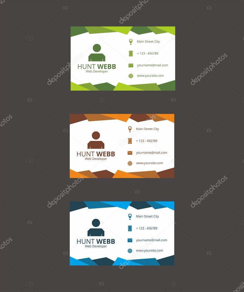 Id Card Business Template Vector — Stock Vector © hendra.maroon ...