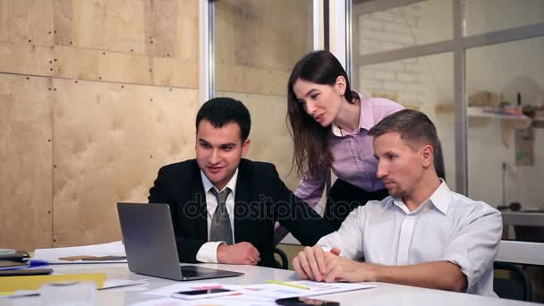 Group of business people on video conference