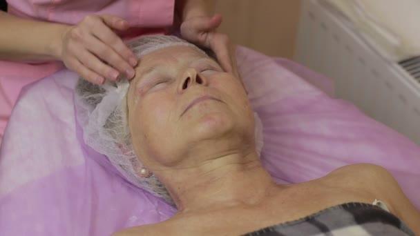 Profesionální kosmetika masážní lidskou tvář