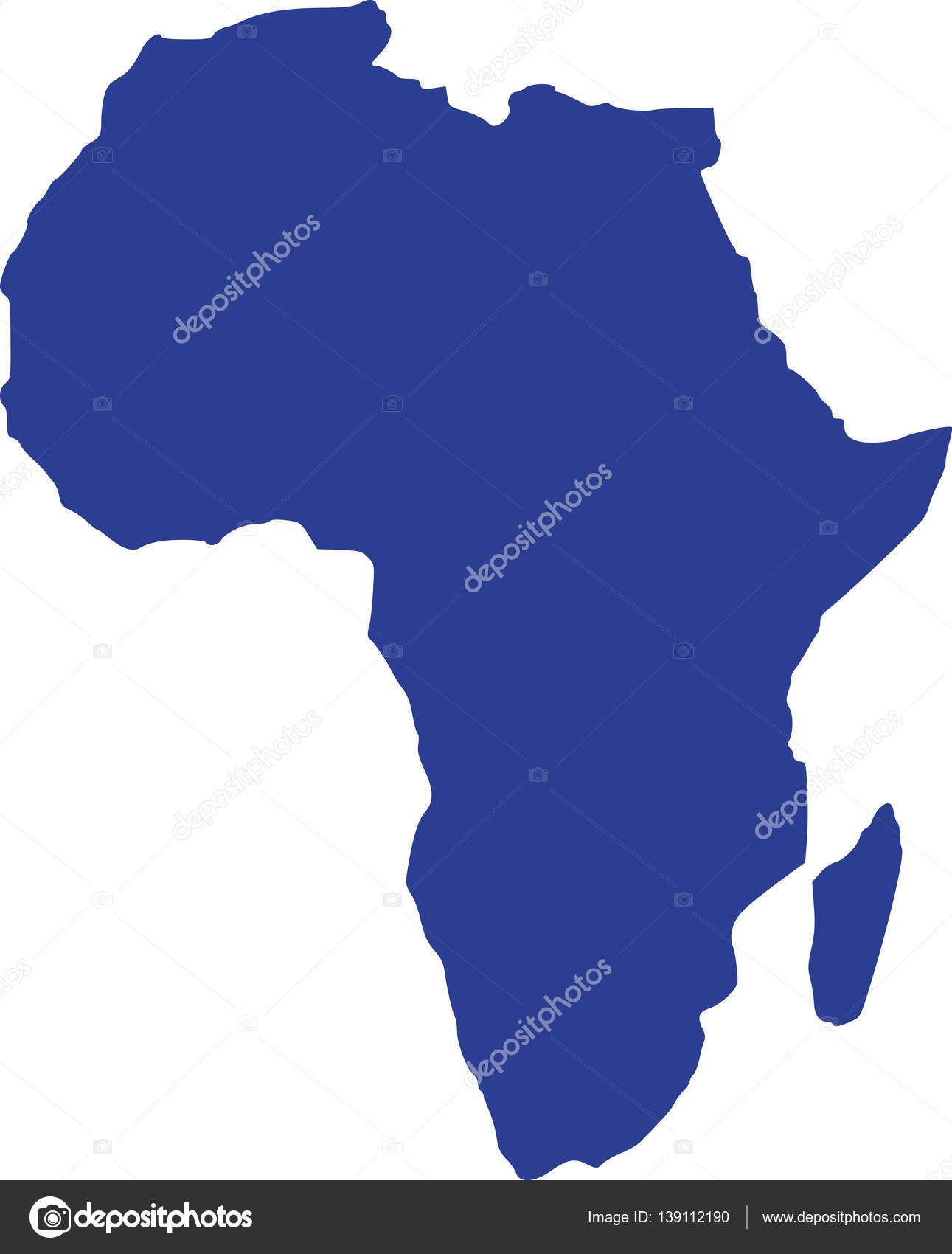 Carte Afrique Vectorielle.Vecteur De Carte Afrique Image Vectorielle Miceking
