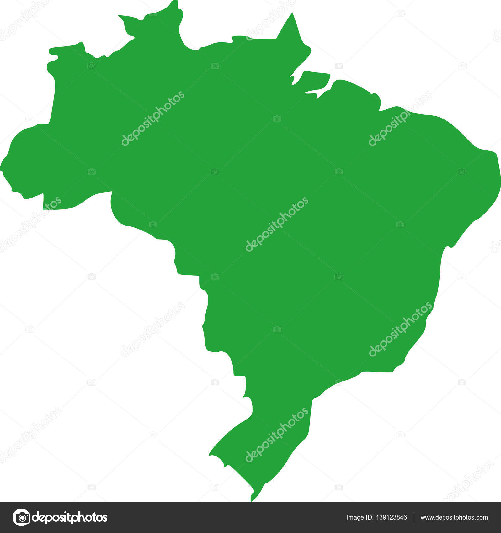 Brasil map vector archivo imgenes vectoriales miceking 139123846 brasil map vector archivo imgenes vectoriales gumiabroncs Choice Image