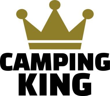Camping King vector