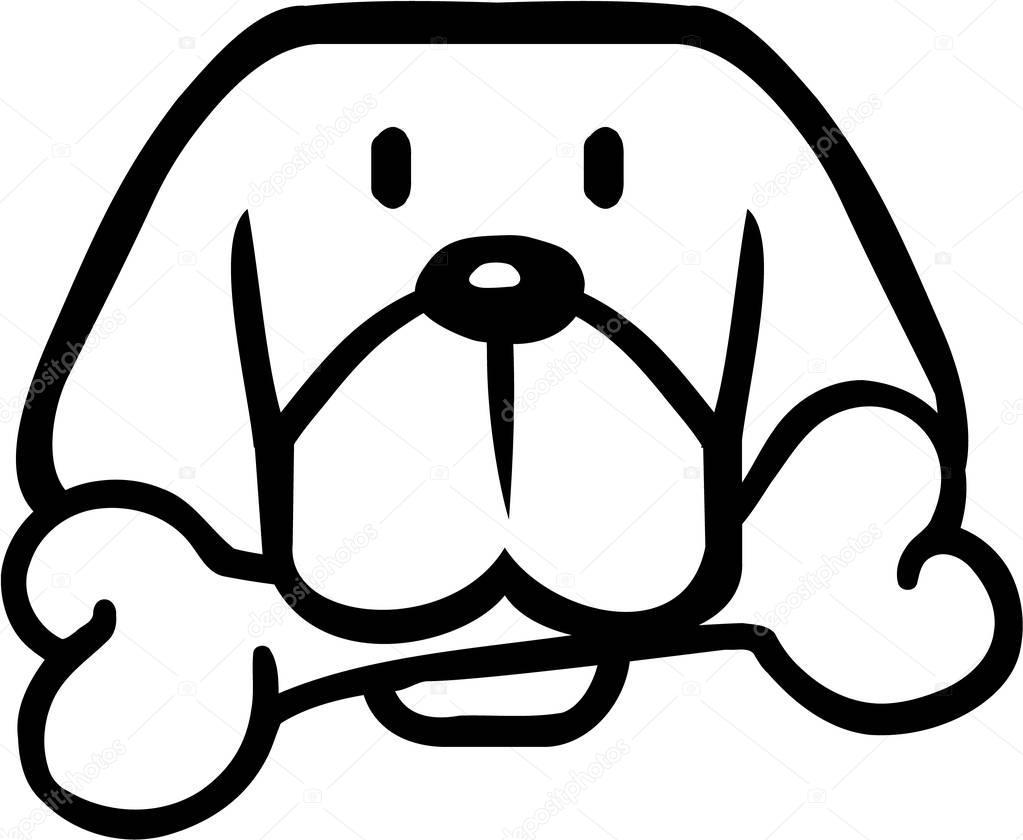 Cabeza De Perro De Dibujos
