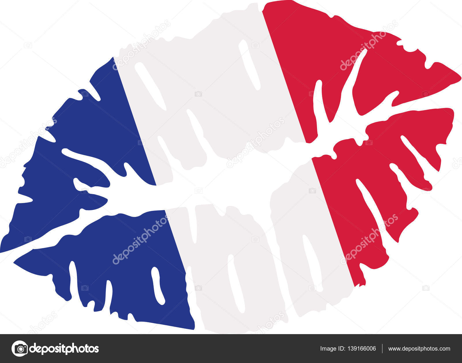 Map Of France Kisses.France Flag Kiss Stock Vector C Miceking 139166006