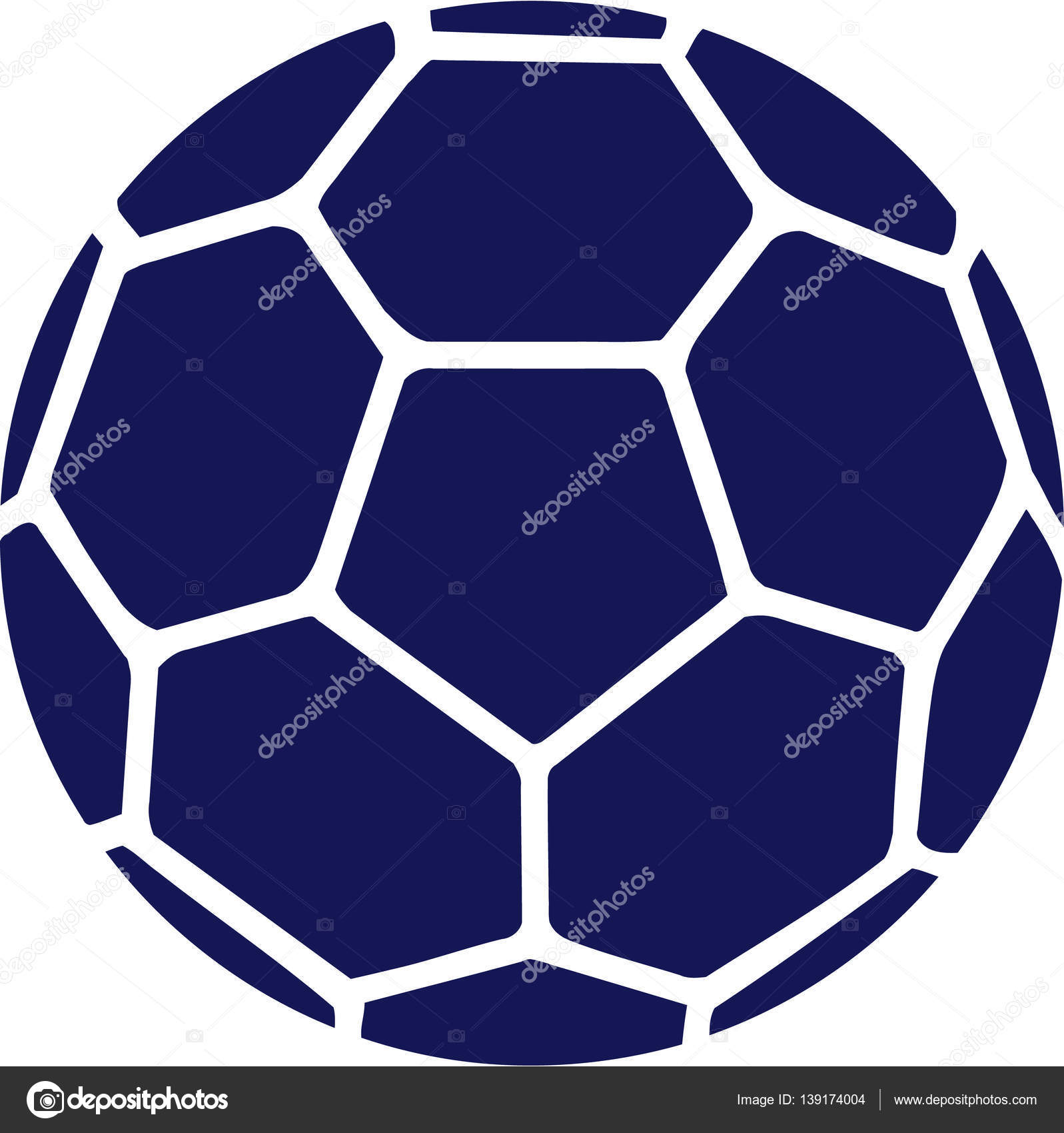 Deporte pelota azul de Balonmano - imágenes  pelotas de hambol — Vector de  miceking — Vector de miceking 9de4d199ad5c