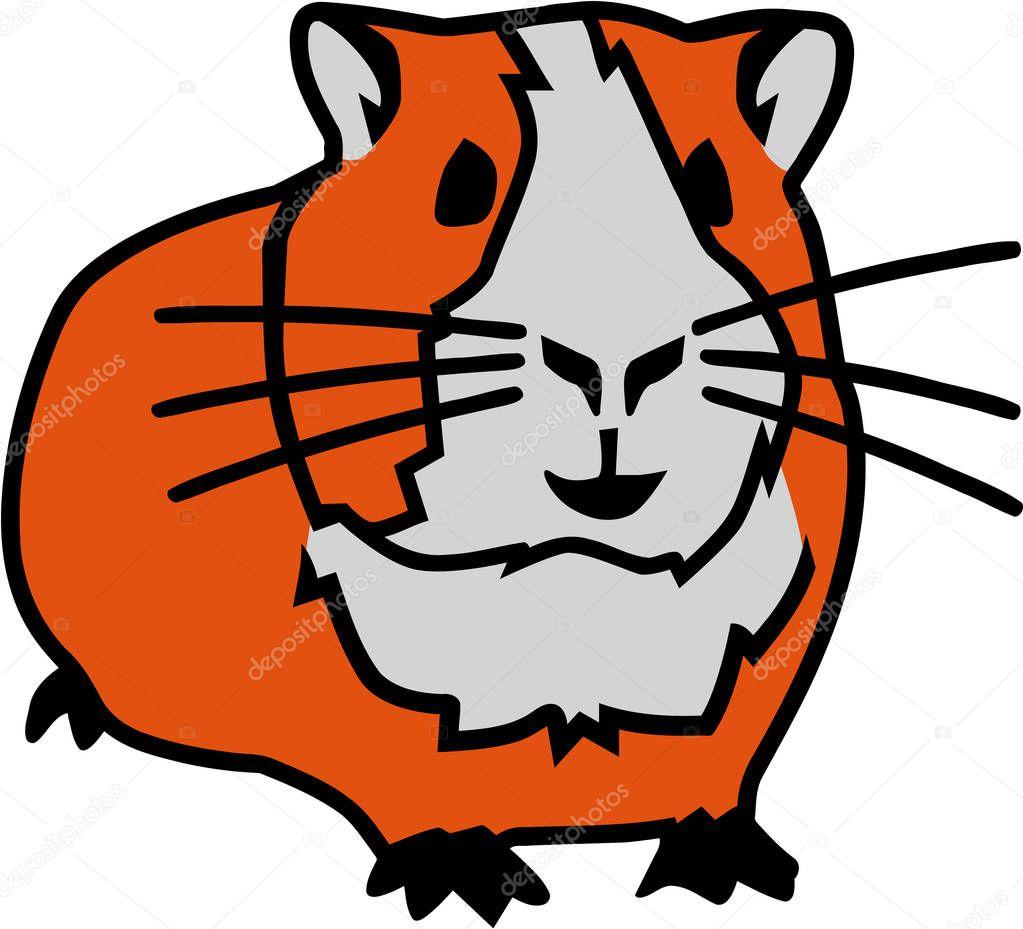 Vecteur de dessin animé de hamster — Image vectorielle miceking © #139173626