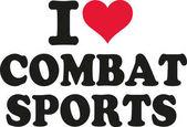 Photo I love combat sports