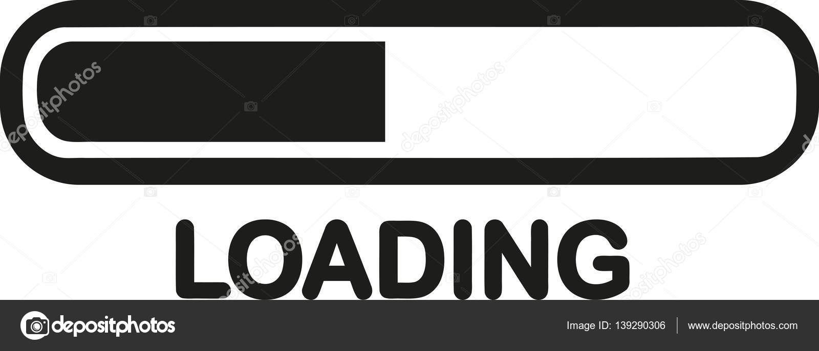 Loading symbol with bar stock vector miceking 139290306 loading symbol with bar stock vector biocorpaavc Image collections