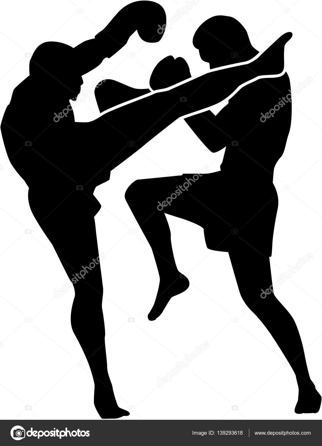 Muay Thai Fighter Stock Vector C Miceking 139293618