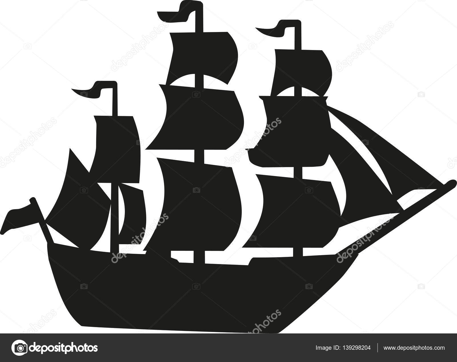 pirate ship vector stock vector miceking 139298204 rh depositphotos com pirate ship vector free pirate ship vector image