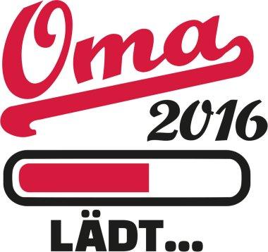 Grandmother 2016 loading bar german