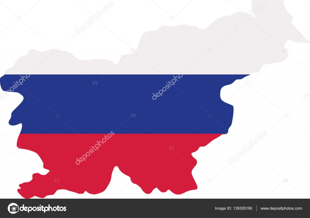 Slovenia Map With Flag Stock Vector Miceking - Slovenia map download