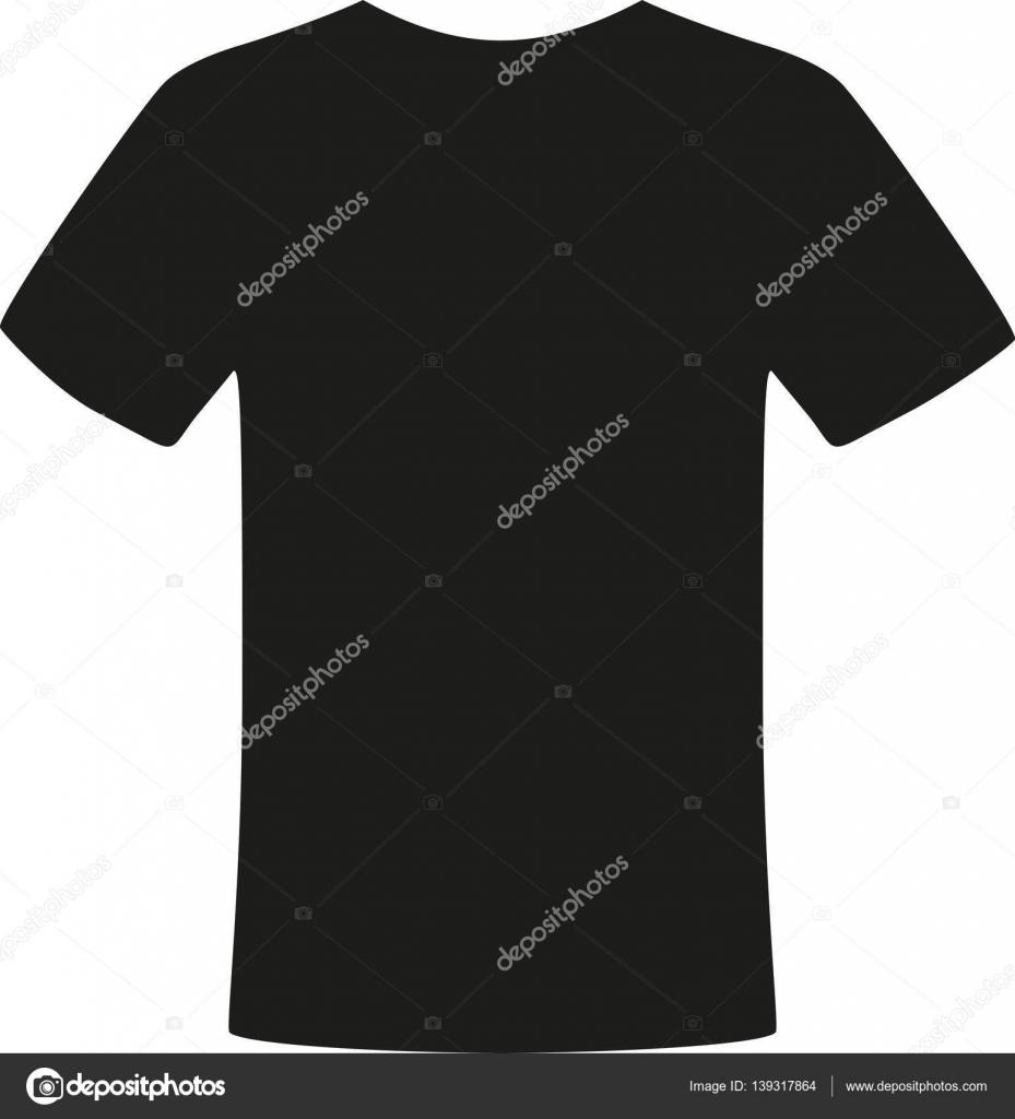 black t shirt vector stock vector miceking 139317864 rh depositphotos com black tee shirt vector black t shirt vector mockup