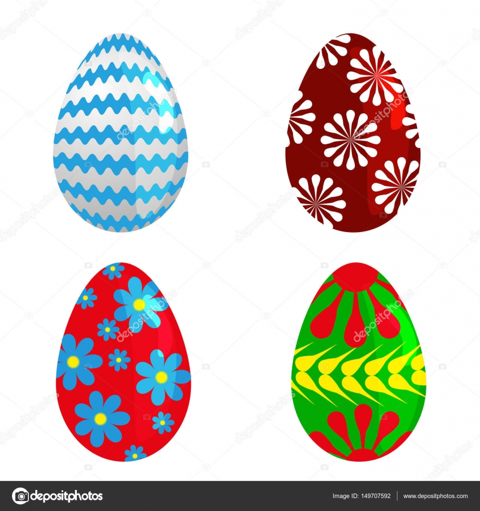 Easter eggs spring colorful celebration decoration holiday vector happy colorful season pattern traditional paint gift vector illustration easter eggs for easter holidays design vector by gnatiuklvmail negle Images