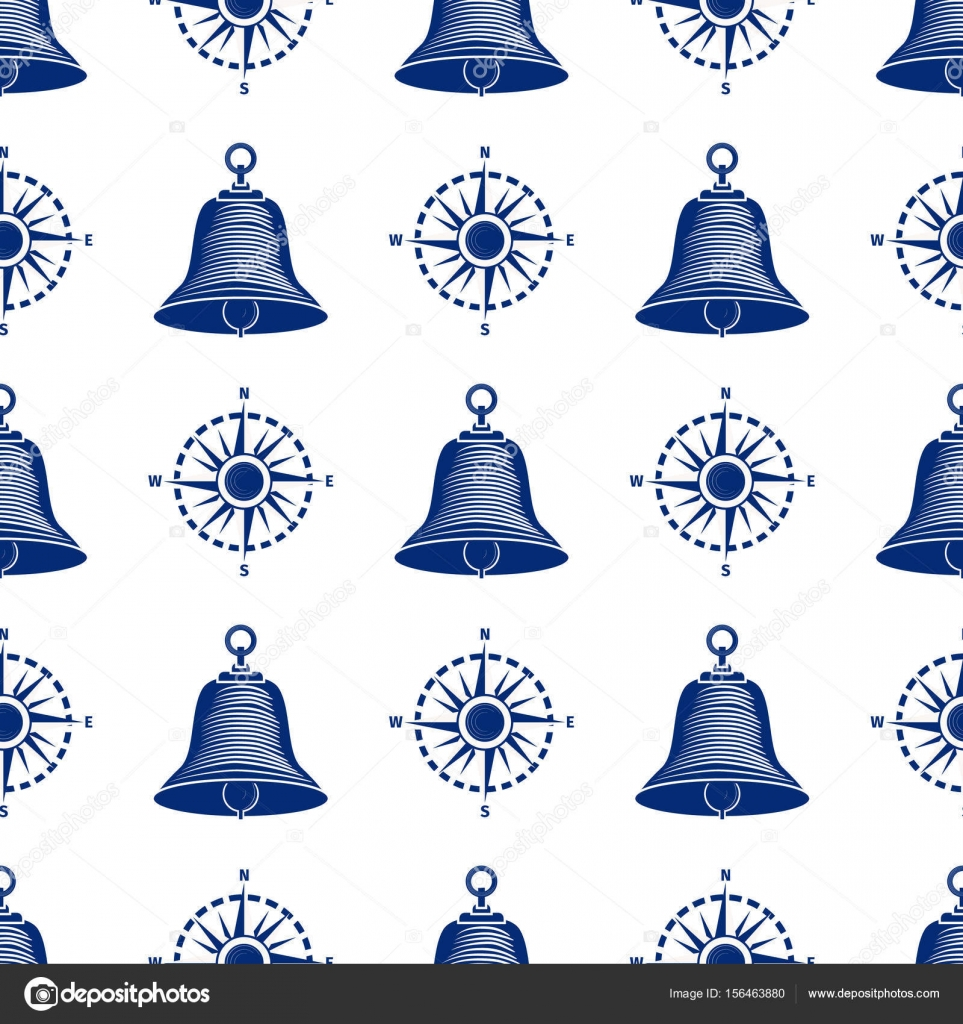 Ship helm seamless pattern marine boat wheel. — Stock Vector © gnatiuklv@mail.ru #156463880