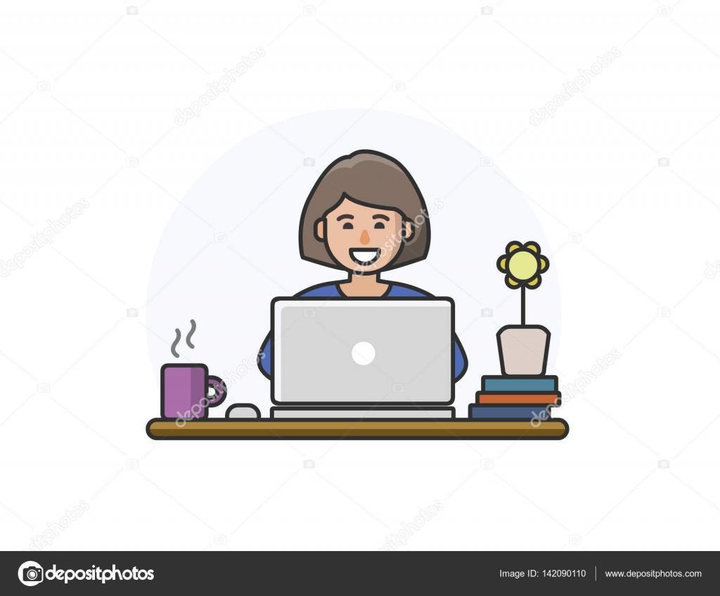 Ilustración De Vector De Personaje De Dibujos Animados