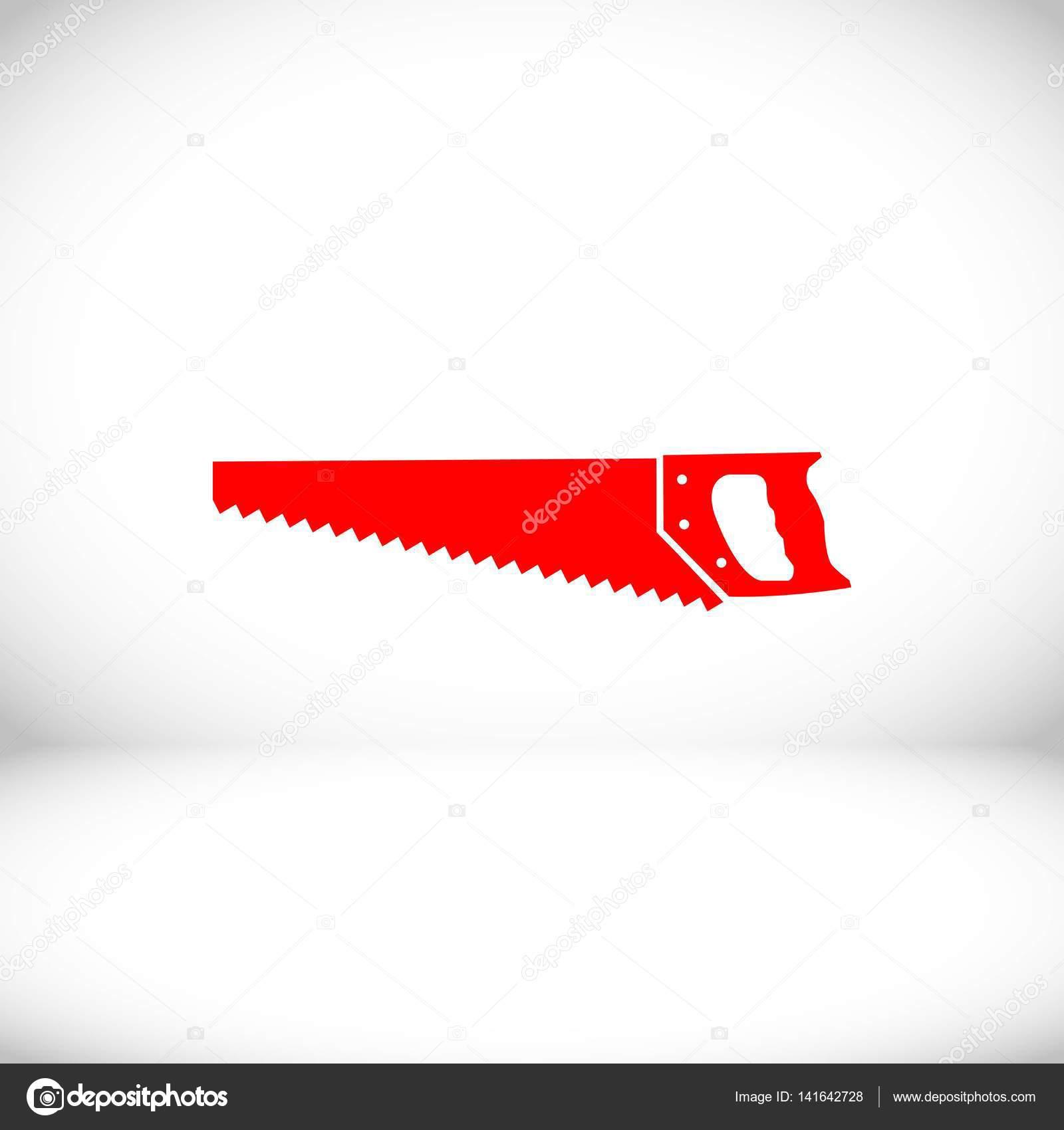Depositphotos 141642728 stock illustration hacksaw icon stock vector illustration