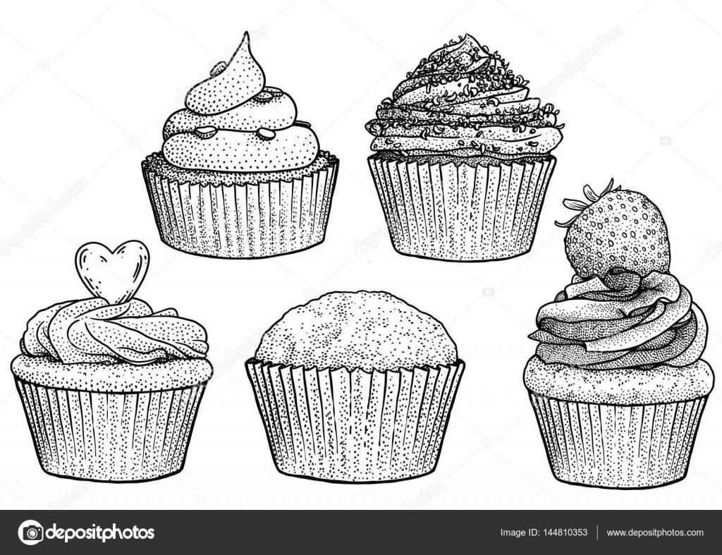 Kosicek Ilustrace Kresba Gravirovani Inkoust Perokresby Vektor