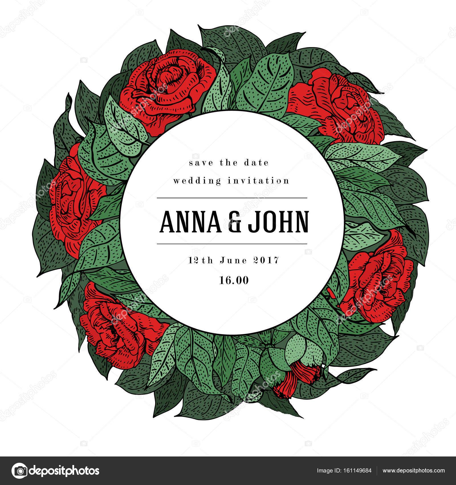 Hochzeitseinladung, Dankeschön-Karte speichern Datum Karten, Flyer ...