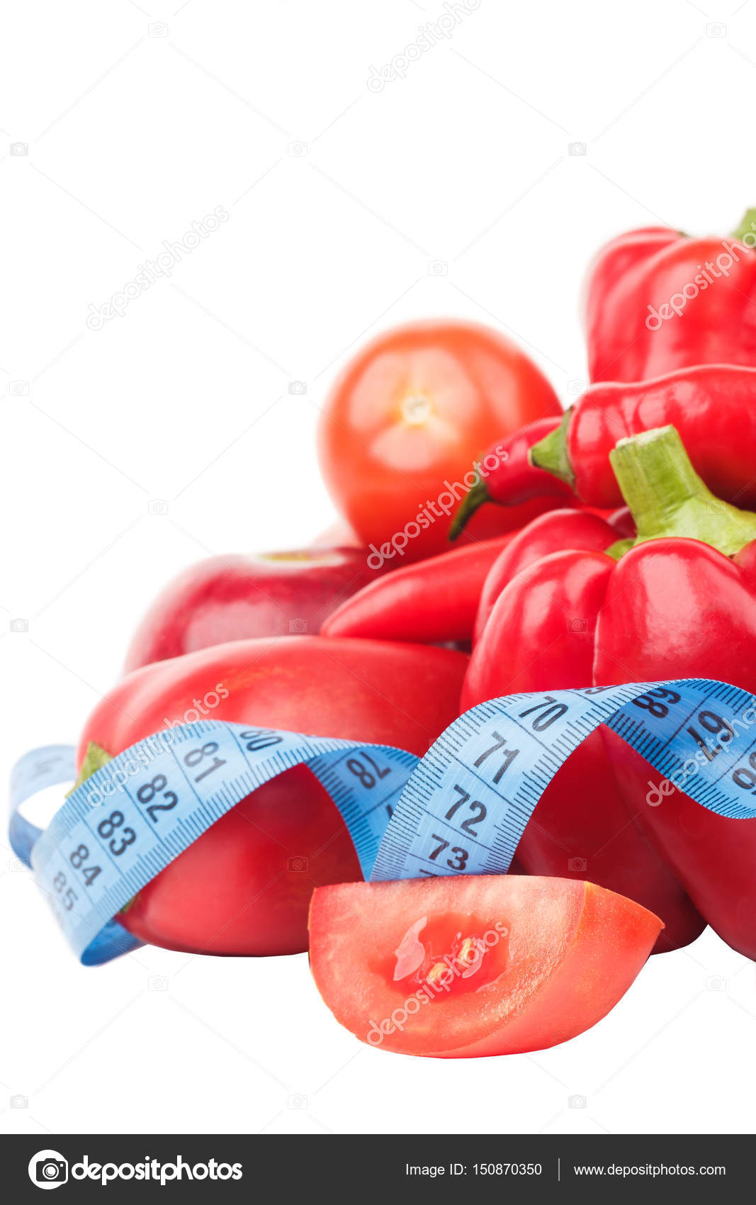 Здоровые и диета питание: салат, помидор, перец, семена, масло.