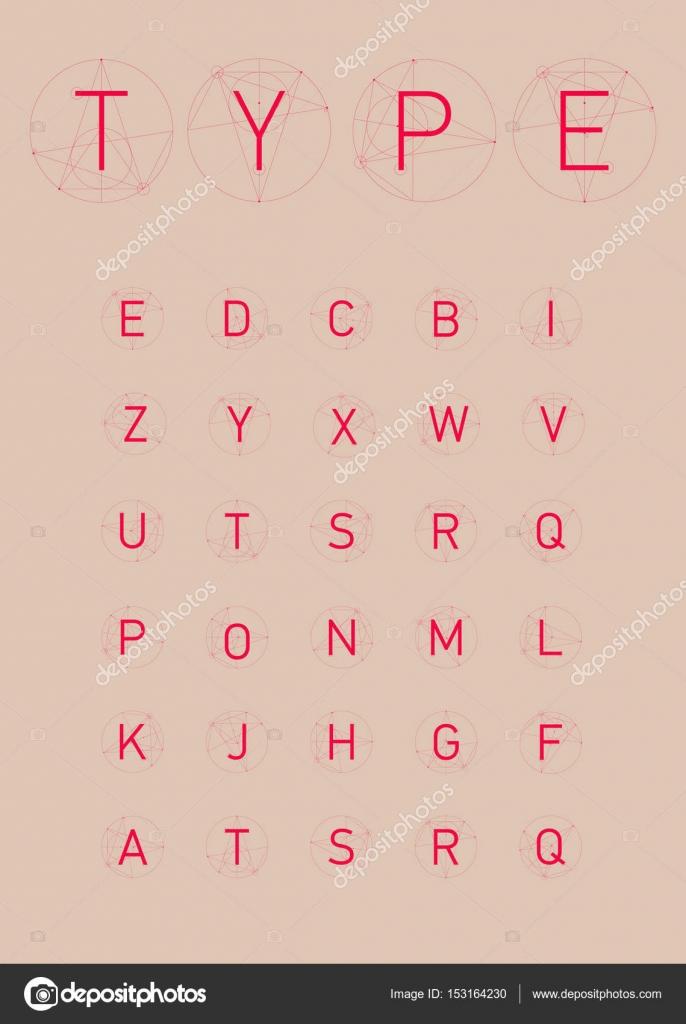 Draht-Vektor-low-Poly-alphabet — Stockvektor © oxygen_8 #153164230