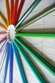 barevné tužky složení