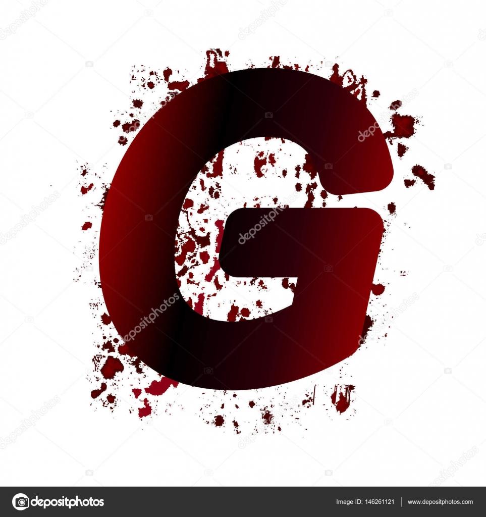 G スポットと血文字は汚い。グラ...