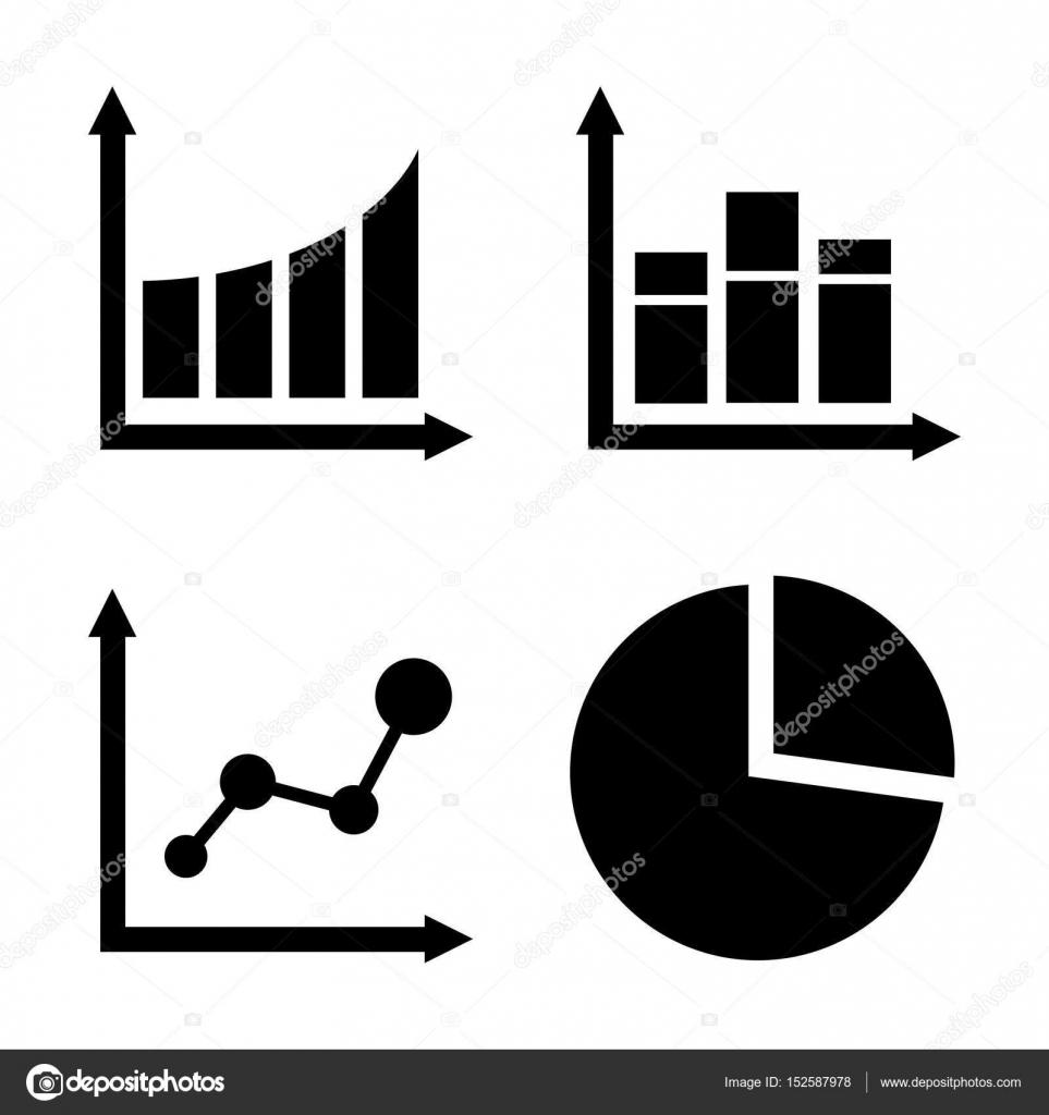 piktogramm diagramm symbol schwarzem symbol auf wei em hintergrund stockvektor mut mut. Black Bedroom Furniture Sets. Home Design Ideas