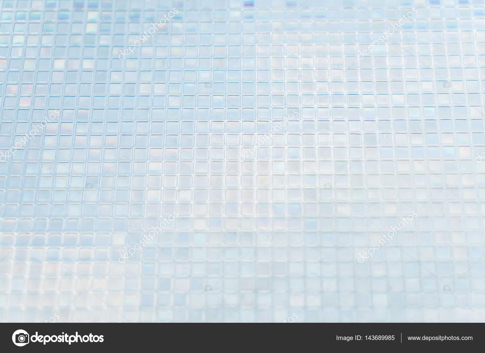Piastrelle di vetro blu senza cuciture sfondo texture u foto stock