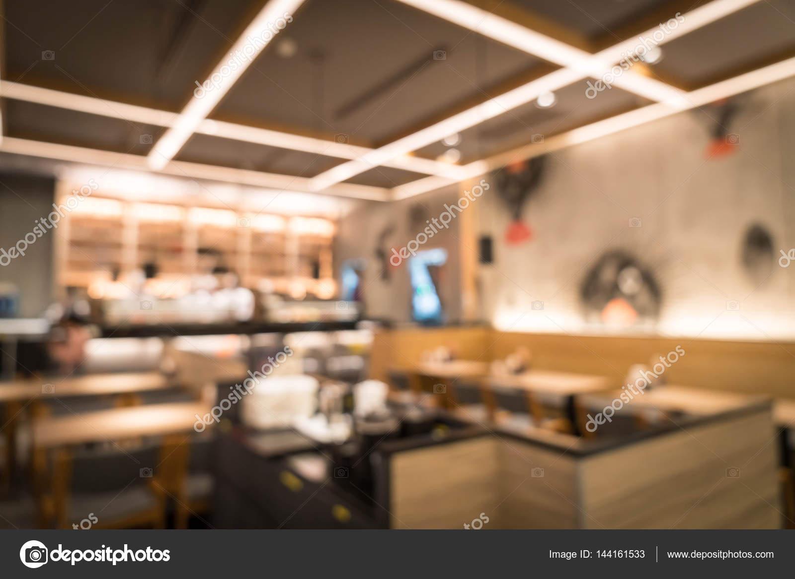 Resumen blur en restaurante — Fotos de Stock © topntp #144161533