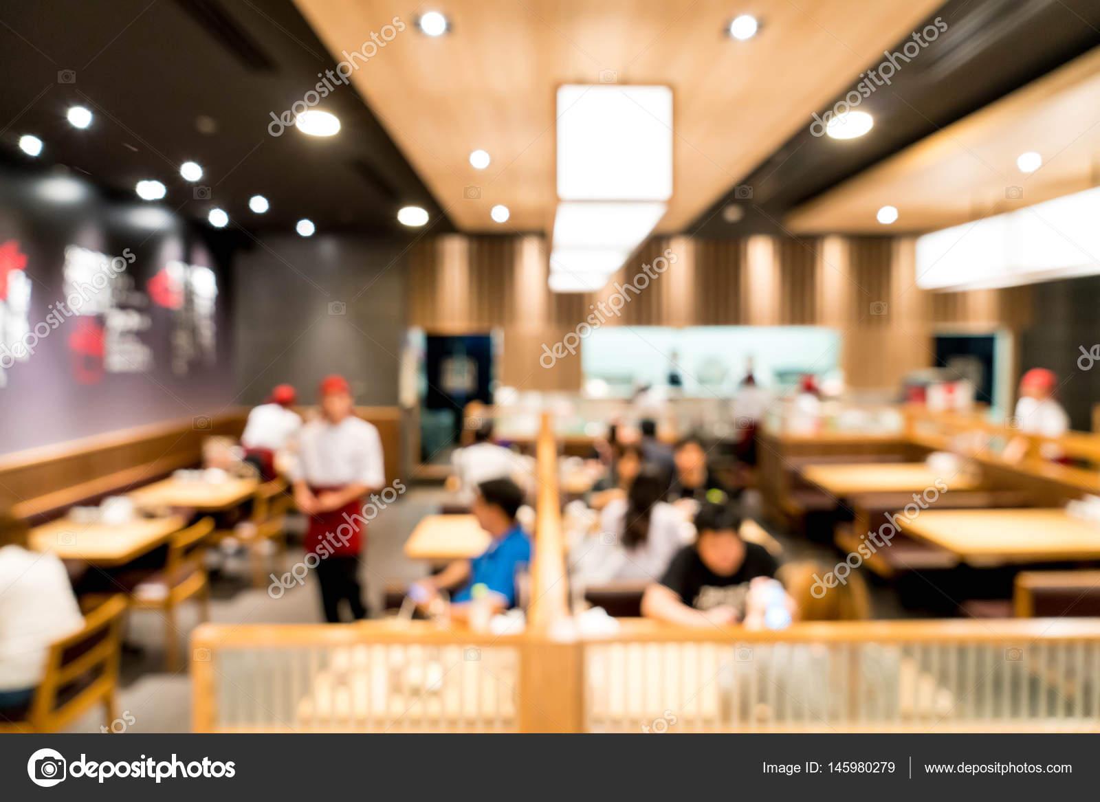 Resumen blur en restaurante — Foto de stock © topntp #145980279