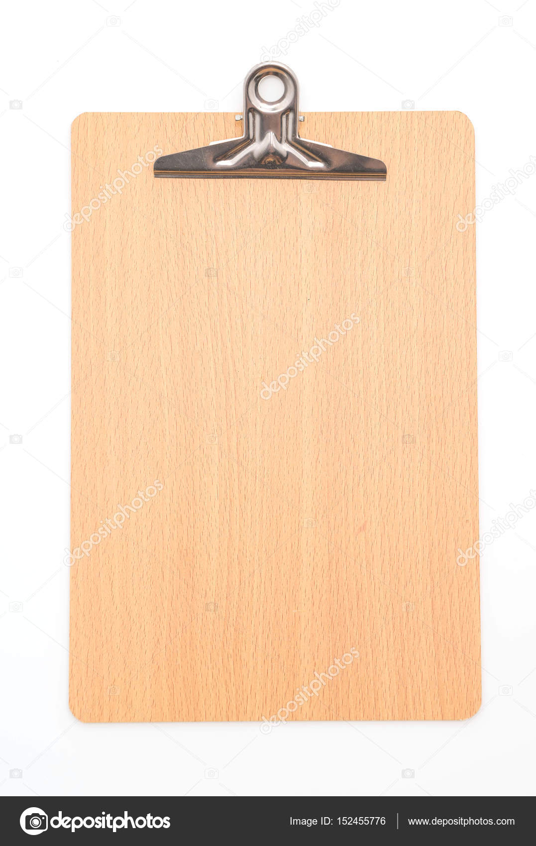 wooden clipboard on white background stock photo topntp 152455776