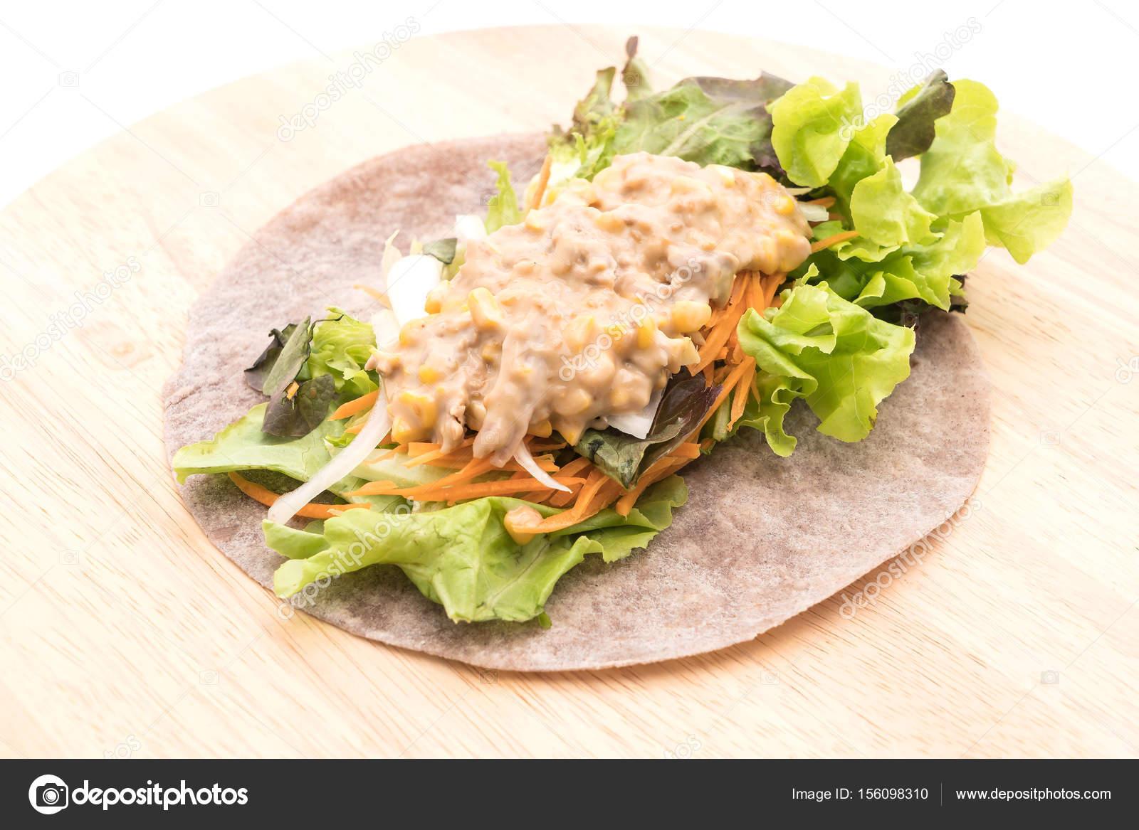 Ton Balıklı Mısır Salatası