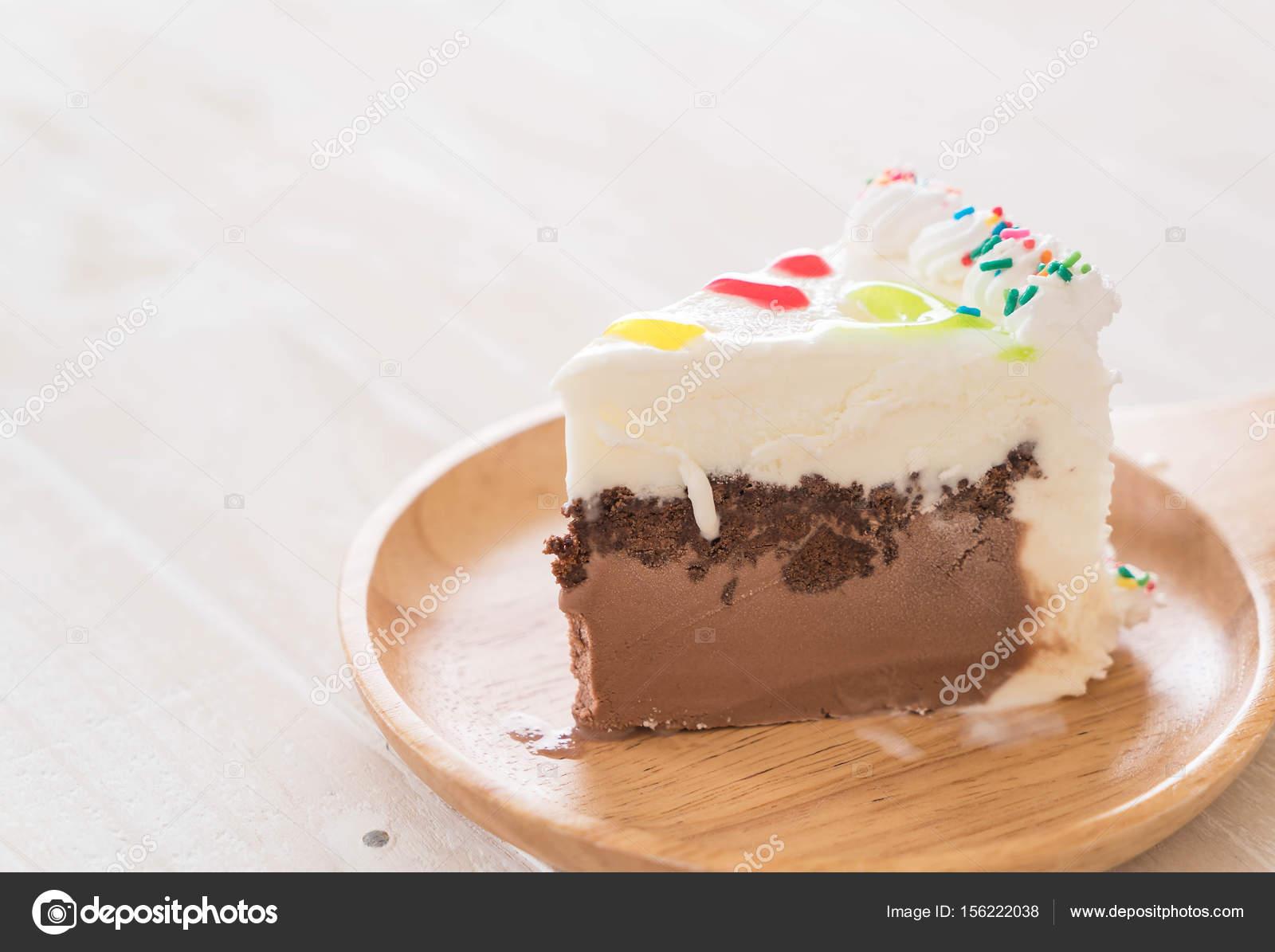 Happy Birthday Cake On Table Stock Photo Topntp 156222038