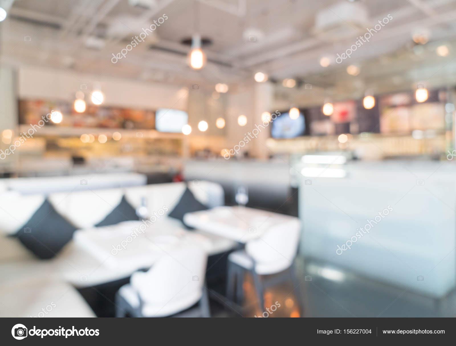 Resumen blur en restaurante — Fotos de Stock © topntp #156227004