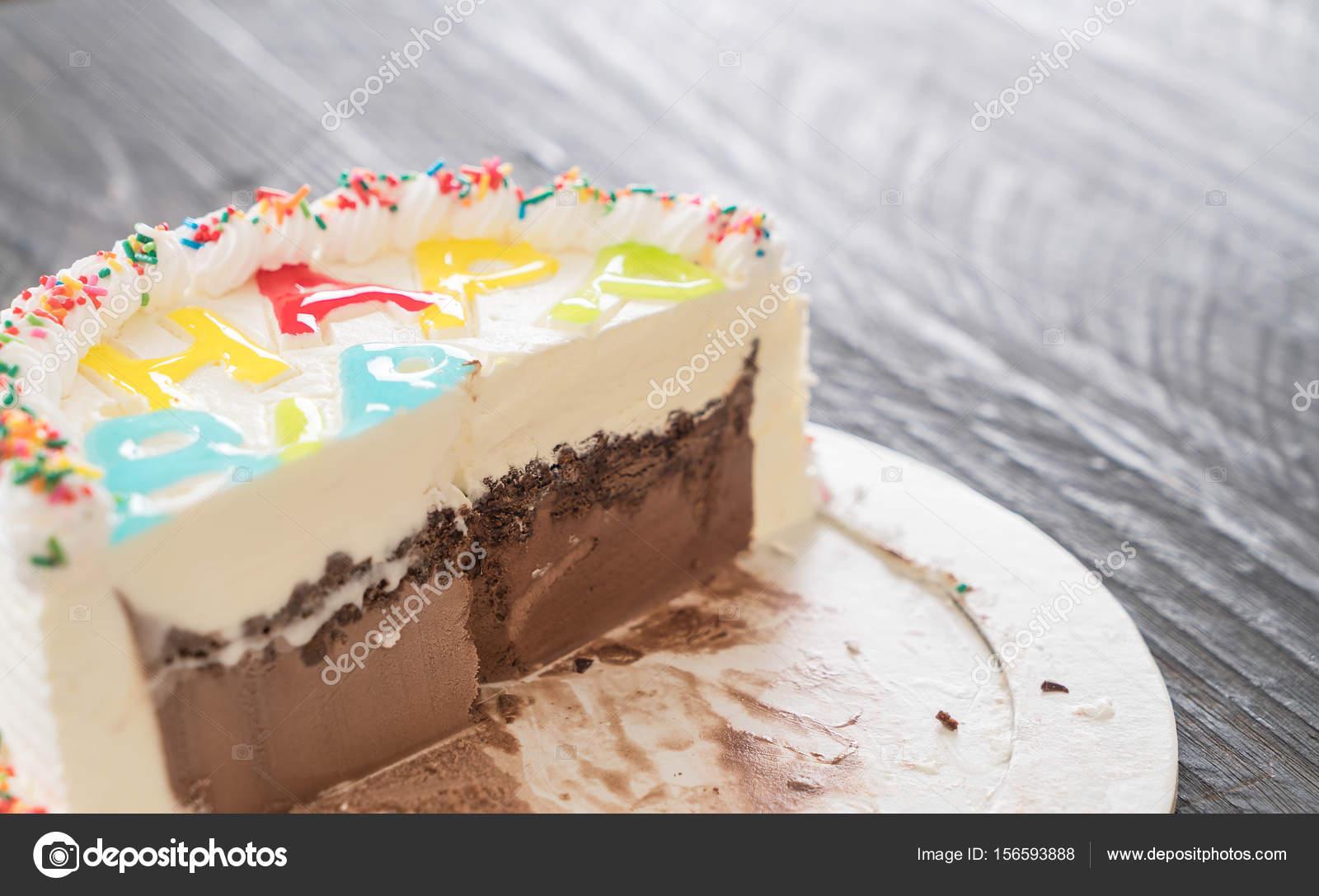 Happy Birthday Ice Cream Cake Stock Photo Topntp 156593888