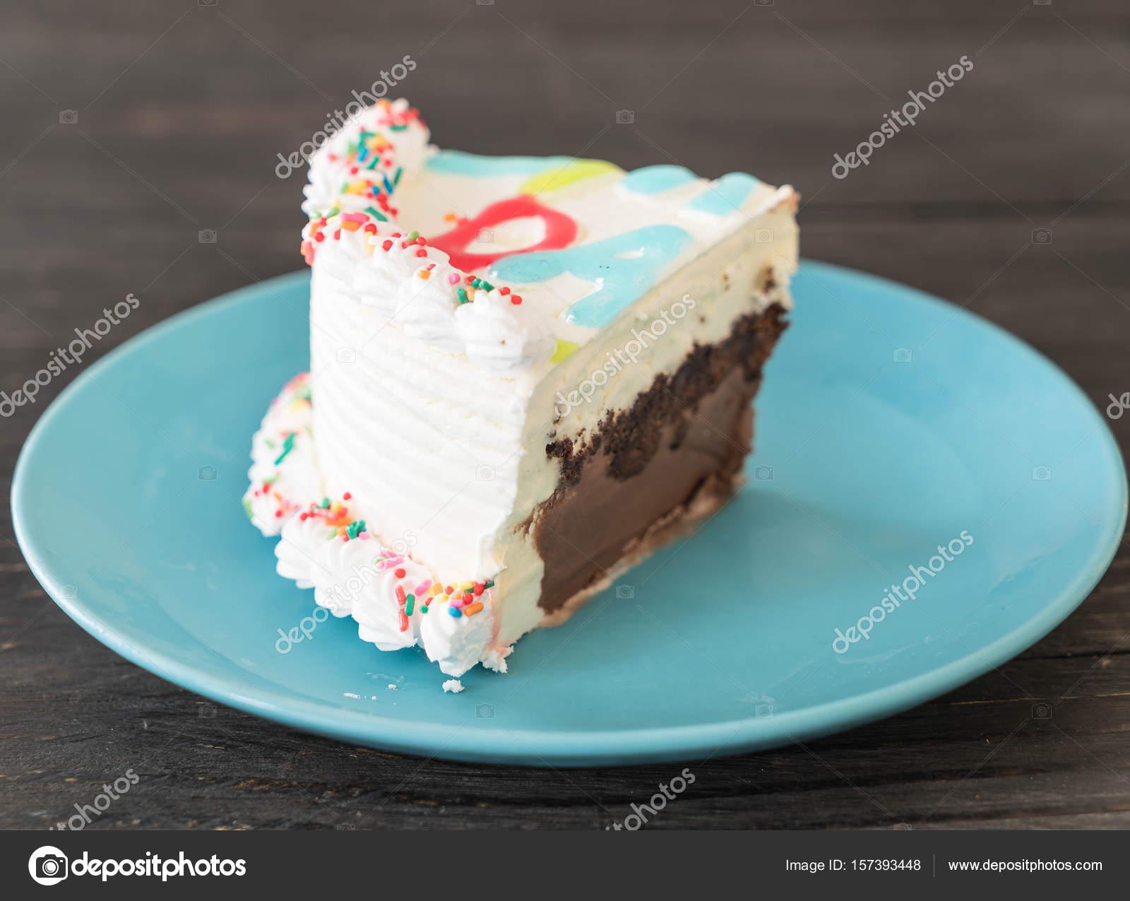 Happy Birthday Ice Cream Cake Stock Photo Topntp 157393448