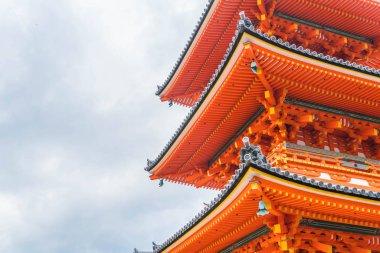 Beautiful Architecture in Kiyomizu-dera Temple Kyoto,.